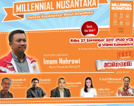 "Book Launch & Talk Show ""Millennial Nusantara"""